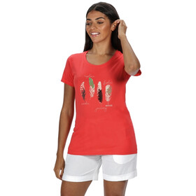 Regatta Filandra IV T-Shirt Dames, red sky